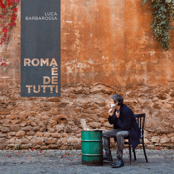 Copertina Vinile 33 giri Roma è de Tutti  di Luca Barbarossa