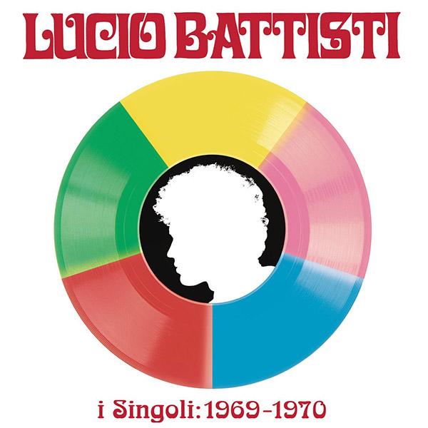 Copertina Vinile 33 giri I Singoli: 1969-1970 [Cofanetto 5x45 Giri] di Lucio Battisti