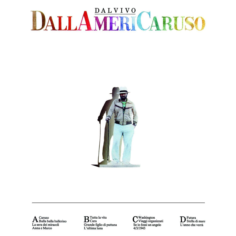 Copertina Disco Vinile 33 giri DallAmeriCaruso [2 LP] di Lucio Dalla