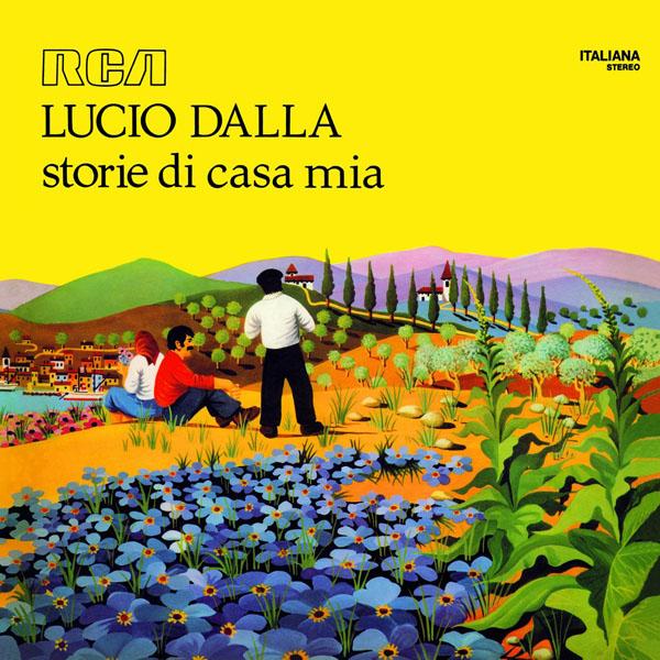 Copertina Disco Vinile 33 giri Storie Di Casa Mia di Lucio Dalla