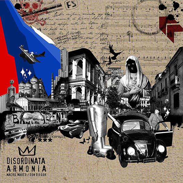Copertina Vinile 33 giri Disordinata Armonia di Macro Marco & Don Diegoh