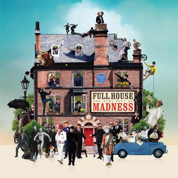 Copertina Vinile 33 giri Full House (The Very Best Of Madness) di Madness