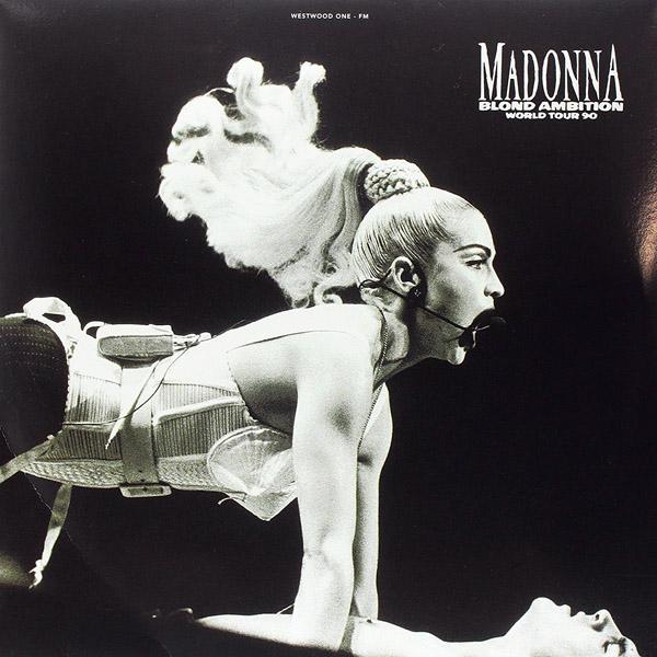Copertina Disco Vinile 33 giri Madonna Blond Ambition World Tour '90 [2 LP] di Madonna