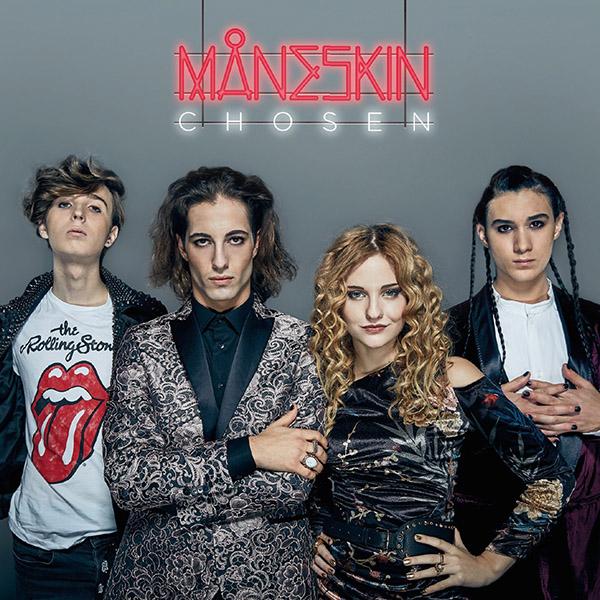 Copertina Vinile 33 giri Chosen di Maneskin