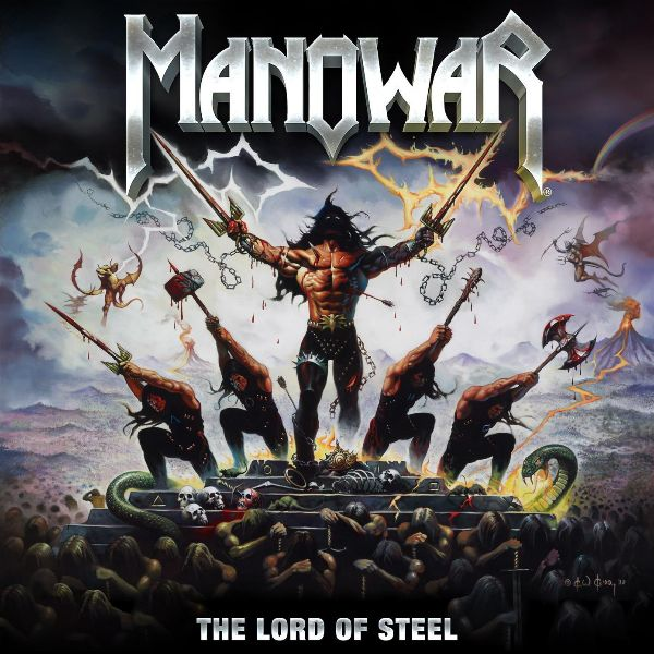 Copertina Disco Vinile 33 giri The Lord of Steel [2LP - Picture Disc] di Manowar
