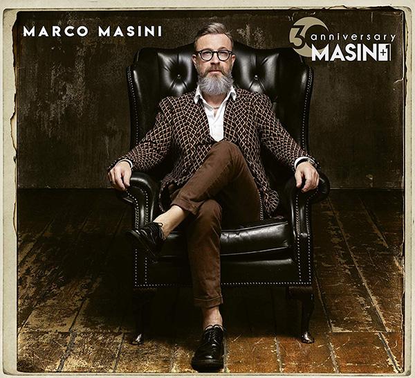 Copertina Vinile 33 giri Masini +1   30th Anniversary di Marco Masini