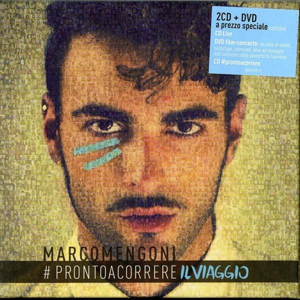 Copertina Disco Vinile 33 giri Pronto a Correre Il Viaggio [Deluxe Edition 2xCD+DVD] di Marco Mengoni