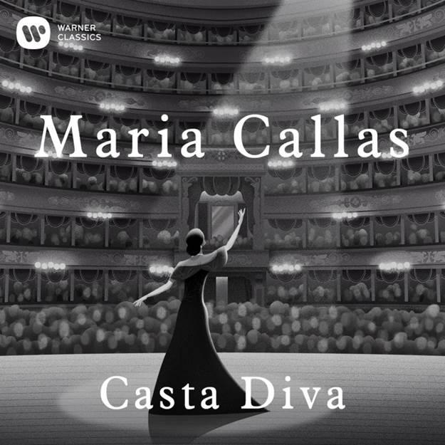 Copertina Vinile 33 giri Bellini: Casta Diva [Singolo 45 Giri] di Maria Callas