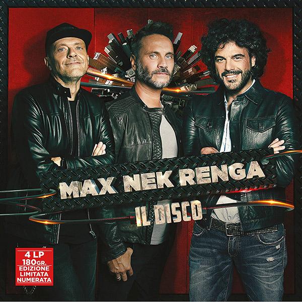 Copertina Vinile 33 giri Max Nek Renga - Il Disco [4 LP] di Max Pezzali
