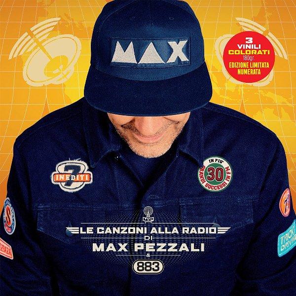 Copertina Vinile 33 giri Le Canzoni alla Radio [3 LP] di Max Pezzali