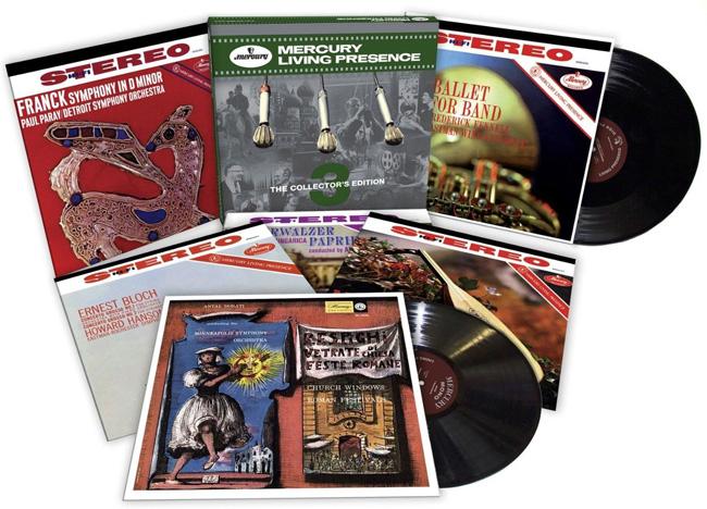 Copertina Disco Vinile 33 giri Mercury Living Presence Vol.3 [Cofanetto 6xLP] di Artisti Vari