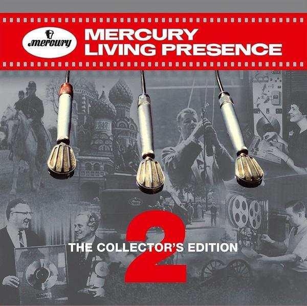 Copertina Disco Vinile 33 giri Mercury Living Presence Vol.2 [Cofanetto 6xLP] di Artisti Vari