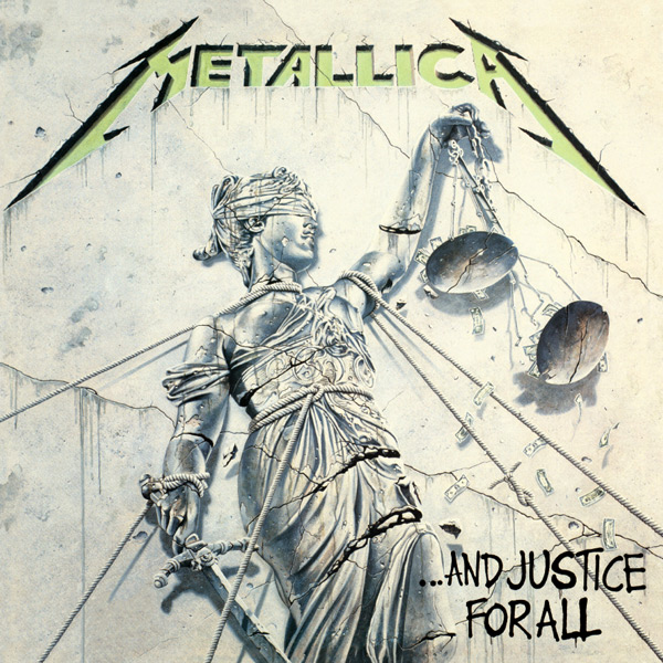 Copertina Disco Vinile 33 giri And Justice for All [2 LP] di Metallica