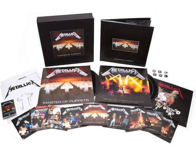 Copertina Vinile 33 giri Master of Puppets  di Metallica