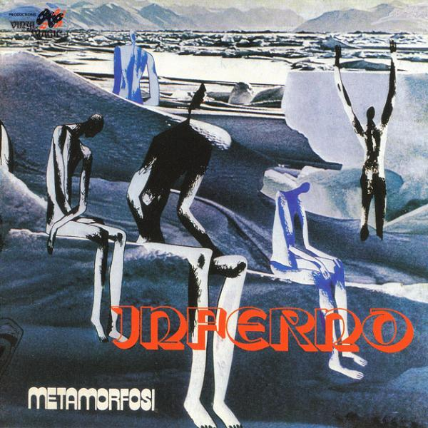 Copertina Disco Vinile 33 giri Inferno
