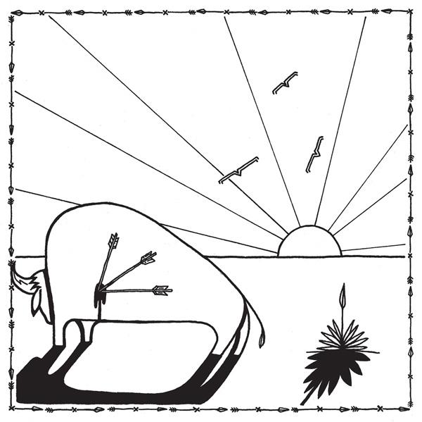 Copertina Disco Vinile 33 giri Broken Arrows di Micah P. Hinson