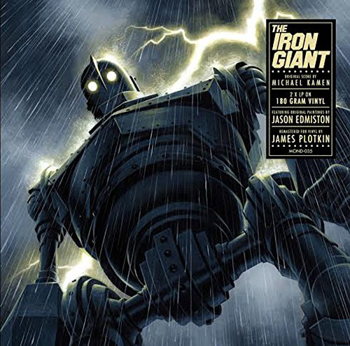 Copertina Disco Vinile 33 giri Il Gigante di Ferro [Soundtrack 2LP] di Michael Kamen
