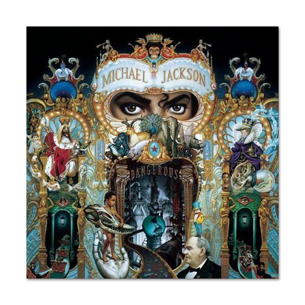 Copertina Disco Vinile 33 giri Dangerous [2 LP] di Michael Jackson