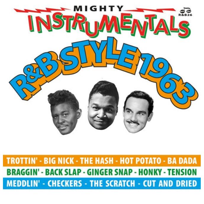 Copertina Vinile 33 giri Mighty Instrumentals R&B Style 1963 di Vari Artisti