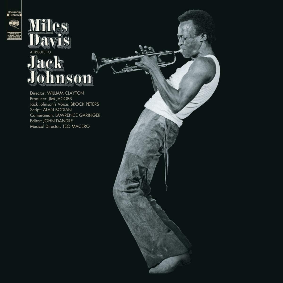 Copertina Vinile 33 giri A Tribute to Jack Johnson di Miles Davis