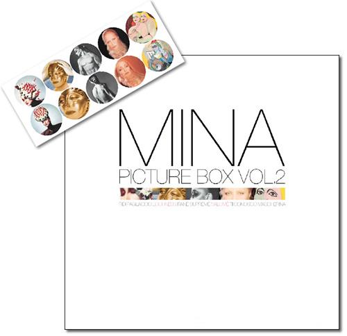 Copertina Disco Vinile 33 giri MINA Picture box vol. 2 [Cofanetto 10 LP]  di Mina