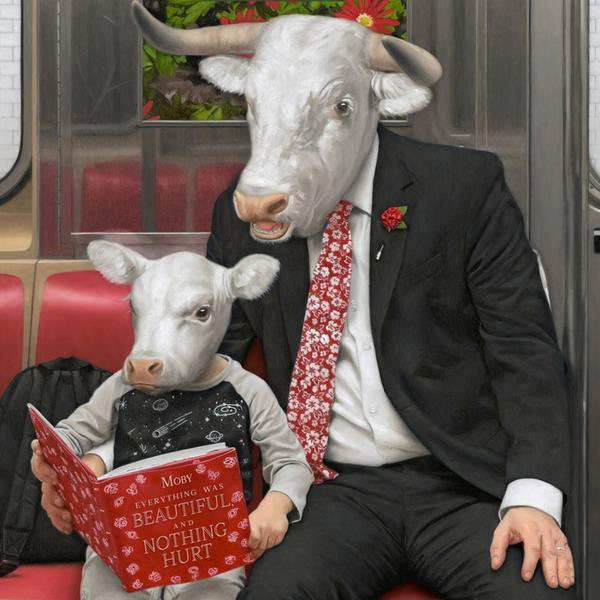 Copertina Vinile 33 giri Everything Was Beautiful, and Nothing Hurt [2 LP] di Moby