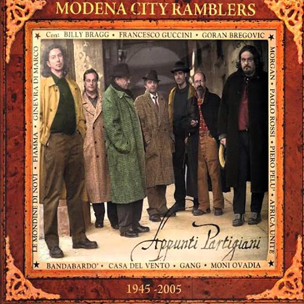 Copertina Vinile 33 giri Appunti Partigiani [2 LP] di Modena City Ramblers