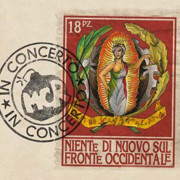 Copertina Disco Vinile 33 giri Niente Di Nuovo Sul Fronte Occidentale [2 CD] di Modena City Ramblers