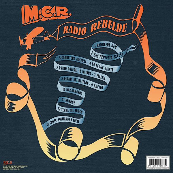 Copertina Vinile 33 giri Radio Rebelde di Modena City Ramblers