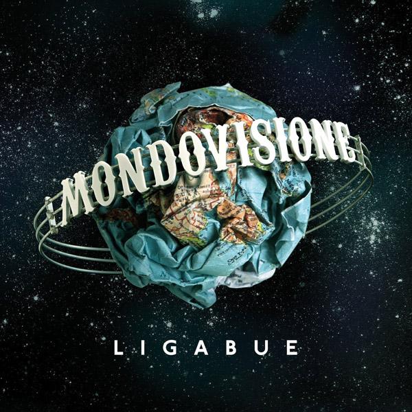 Copertina Disco Vinile 33 giri Mondovisione [2 LP + Libro] di Ligabue
