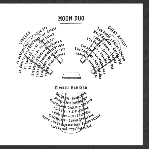 Copertina Disco Vinile 33 giri Circles Remixed di Moon Duo