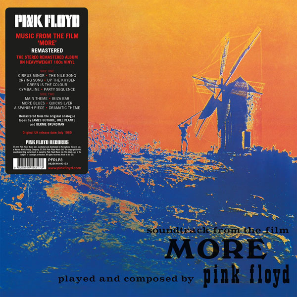 Copertina Disco Vinile 33 giri More [Soundtrack LP] di Pink Floyd