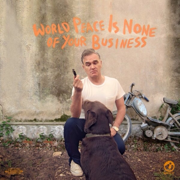 Copertina Disco Vinile 33 giri World Peace Is None of Your Business di Morrissey