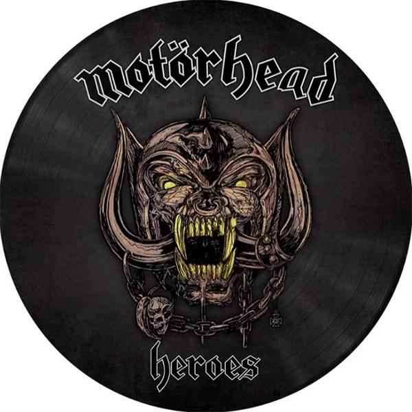 Copertina Vinile 33 giri Heroes [Singolo Picture Disc] di Motorhead