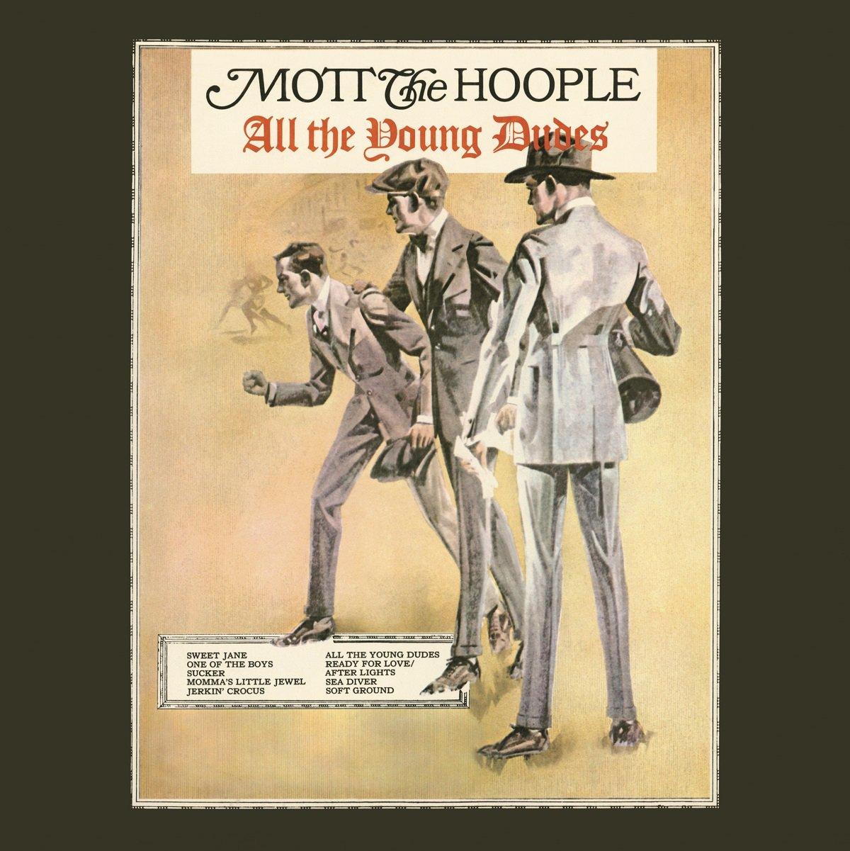 Copertina Disco Vinile 33 giri All the Young Dudes di Mott The Hoople