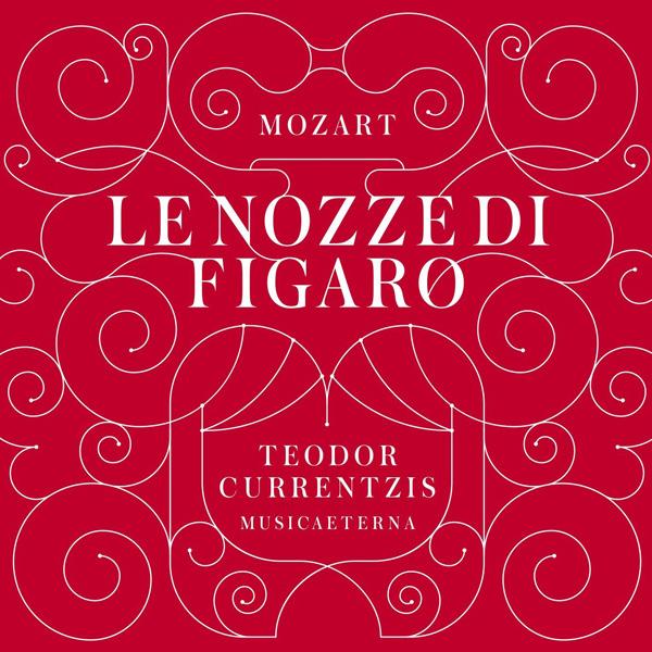 Copertina Disco Vinile 33 giri Mozart: Le Nozze di Figaro [Cofanetto 6LP] di Teodor Currentzis