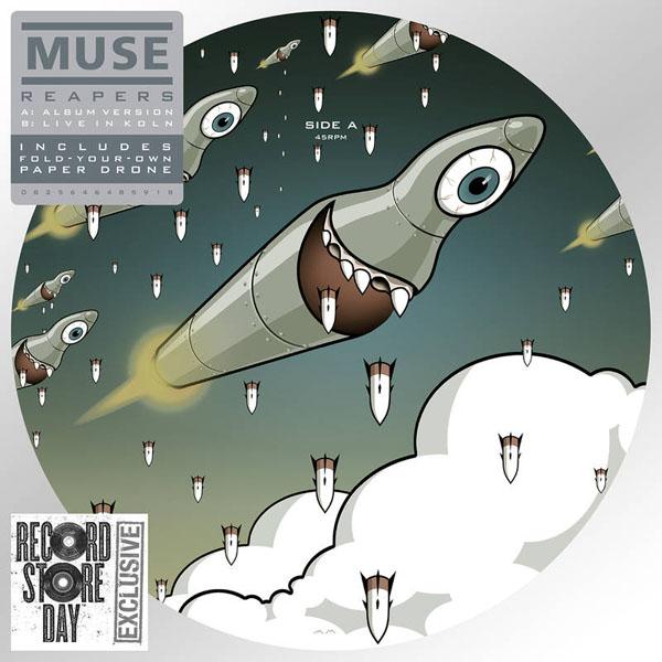 Copertina Disco Vinile 33 giri Reapers [Singolo 45 Giri] di Muse
