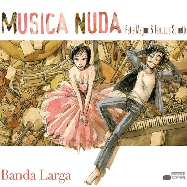 Copertina Disco Vinile 33 giri Banda Larga di Musica Nuda