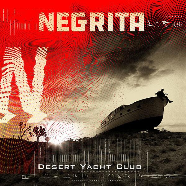 Copertina Vinile 33 giri Desert Yacht Club di Negrita