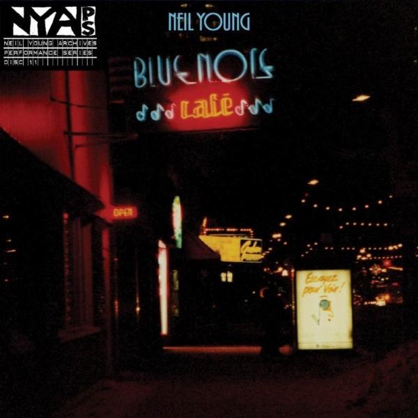 Copertina Disco Vinile 33 giri Bluenote Café [4 LP] di Neil Young