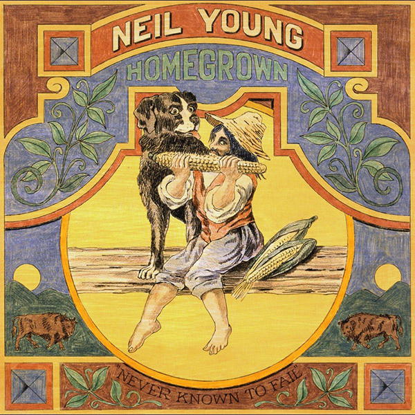 Copertina Vinile 33 giri Homegrown di Neil Young