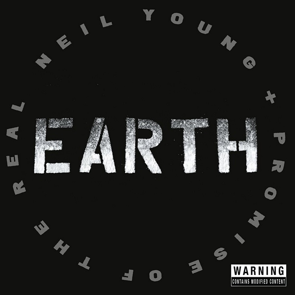 Copertina Disco Vinile 33 giri Earth [3 LP] di Neil Young + Promise Of The Real