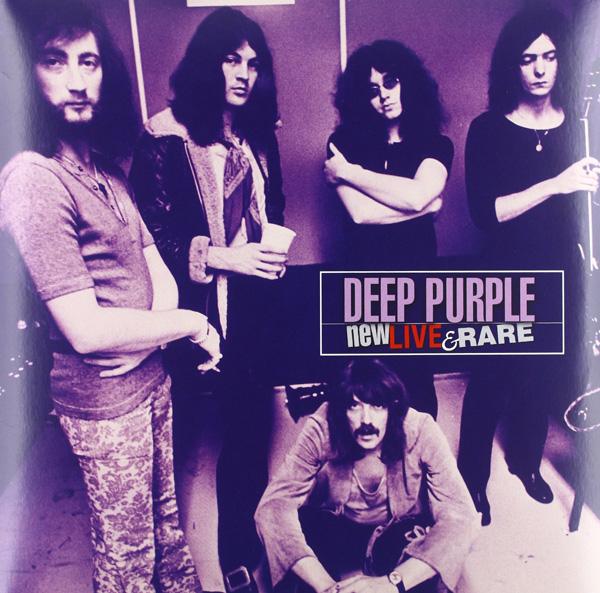 Copertina Disco Vinile 33 giri New Live & Rare [2 LP] di Deep Purple