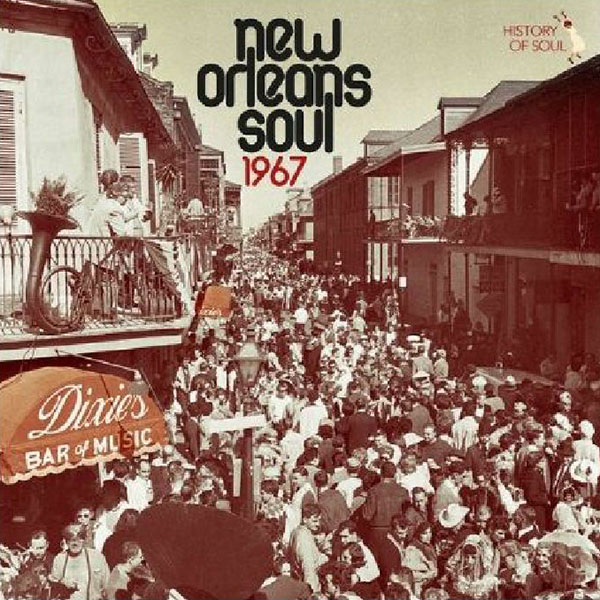Copertina Vinile 33 giri New Orleans Soul 1967 di Vari Artisti