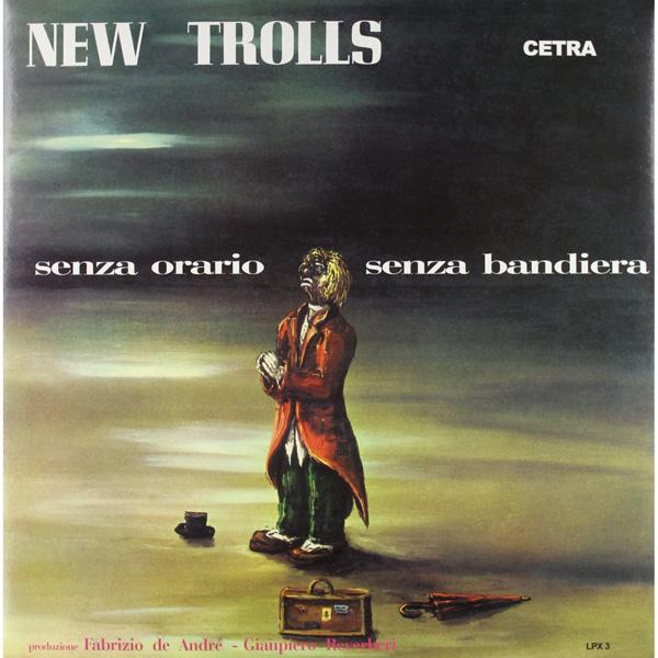 Copertina Disco Vinile 33 giri Senza Orario Senza Bandiera  di New Trolls