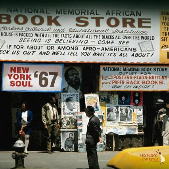 Copertina Vinile 33 giri New York Soul '67 di Vari Artisti