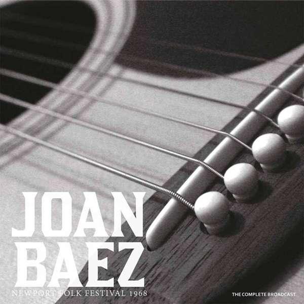 Copertina Disco Vinile 33 giri Newport Folk Festival 1968 di Joan Baez