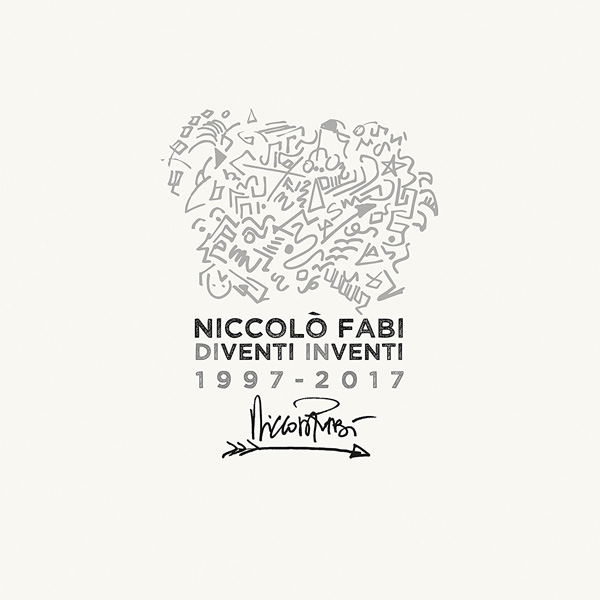 Copertina Vinile 33 giri Diventi Inventi 1997-2017  di Niccolò Fabi