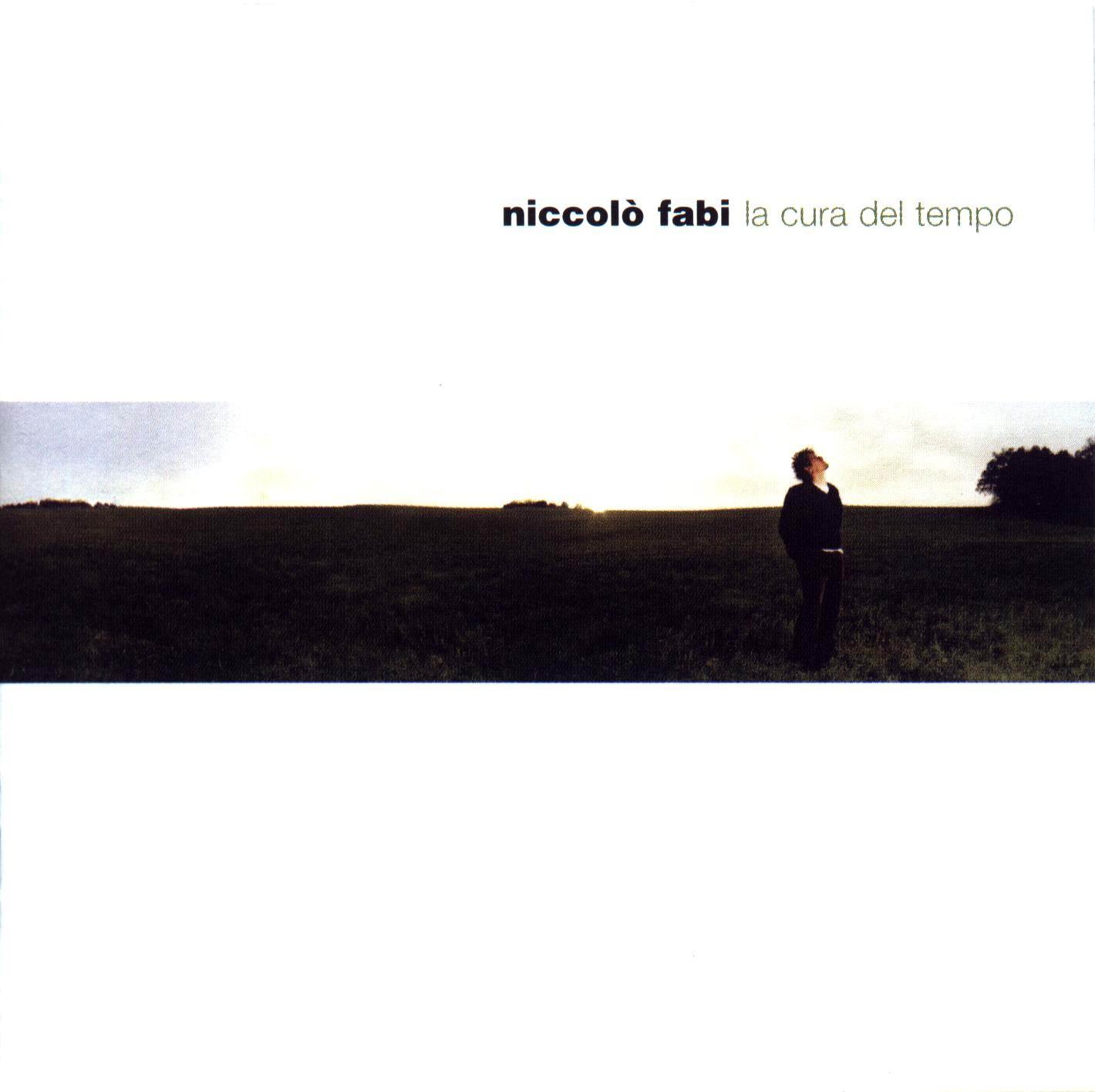Copertina Vinile 33 giri La Cura del Tempo di Niccolò Fabi