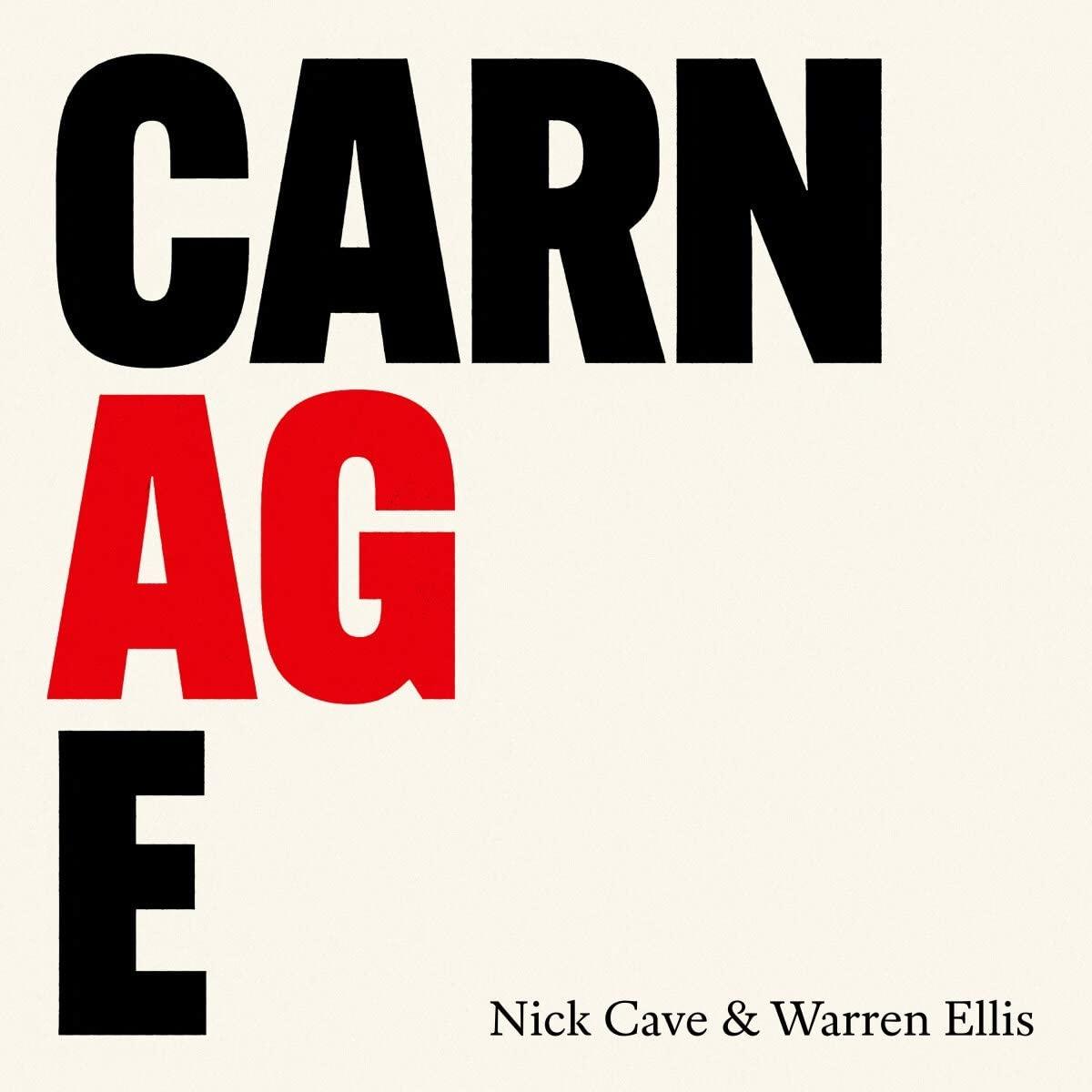 Copertina Vinile 33 giri Carnage di Nick Cave & Warren Ellis